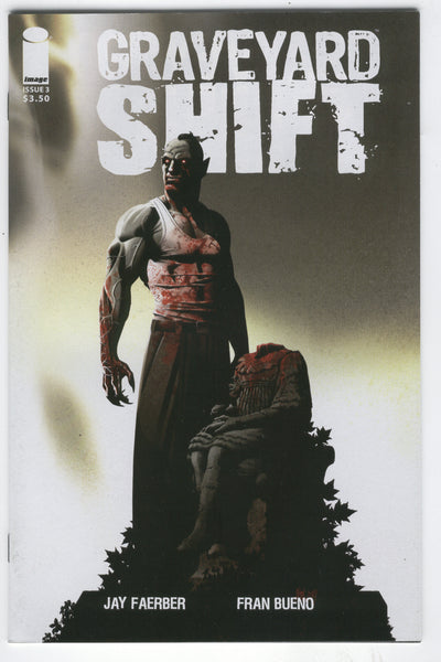 Graveyard Shift #3 Image Comics 2015 Mature Readers NM-