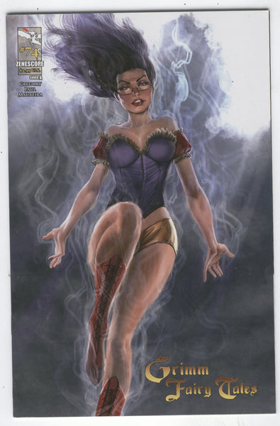 Grimm Fairy Tales #74 Cover A Trapped In The Tomb! Mature Readers VGFN