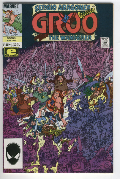 Groo The Wanderer #3 HTF Early Issue VF+