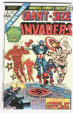 Giant-Size Invaders #1 The Hordes Of Hitler Bronze Age Key VF