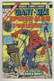 Giant-Size Spider-Man #4 Early Punisher Appearance Bronze Age Key VG