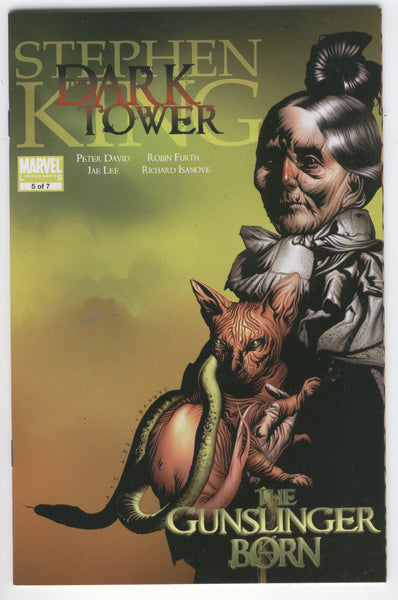 Stephen King The Dark Tower Gunslinger Born #5 of 7 NM