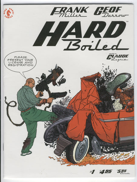 Hard Boiled #1 Frank Miller & Geoff Darrow Art Mature Readers Only VF