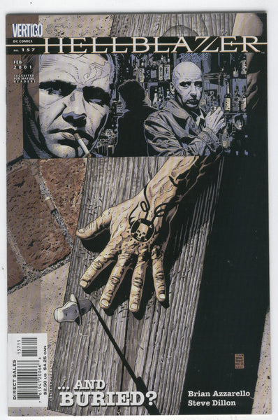 Hellblazer #157 Dead And Buried? Dillon Art Mature Readers VF