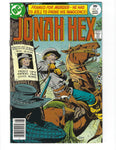 Jonah Hex #3 Framed For Murder! Bronze Age Western FN