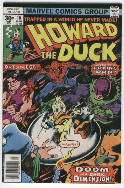 Howard The Duck #10 Into The Frying Pan Bronze Age Classic FVF