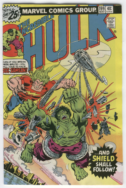 Incredible Hulk #199 Doc Samson and Shield Shall Follow Bronze Age Classic FVF