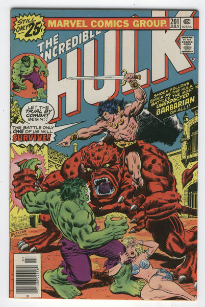 Incredible Hulk #201 Trial By Combat Bronze Age Classic FVF