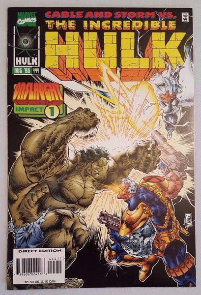 incredible Hulk #444 vs Cable & Onslaught VF