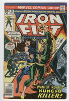 Iron Fist #10 The Kung-Fu Killer Claremont Byrne Bronze Age Key VG