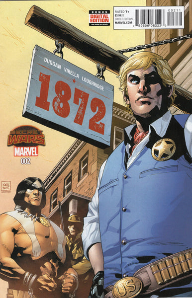 1872 #2 Secret Wars Tie-In VFNM
