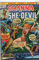 Shanna The She-Devil #5 Enter: Nekra! Bronze Age Classic VG
