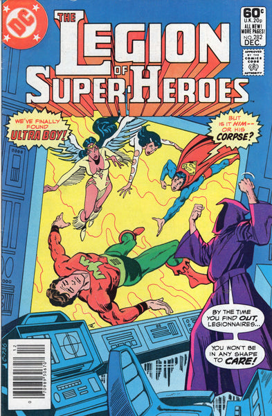Legion Of Super-Heroes #282 Ultra Boy Dead? News Stand Variant FVF