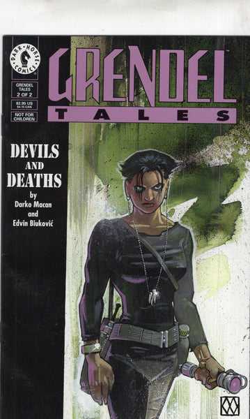 Grendel Devils And Deaths #2 of 2 Mature Readers FVF