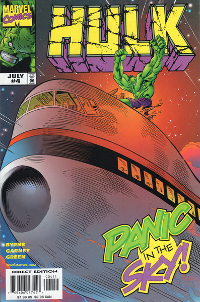 Hulk #4 Panic In The Sky! VF