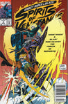 "Ghost Rider & Blaze Spirits Of Vengeance #8 ""Against The Forces Of Mephisto!"" News Stand Variant VFNM"