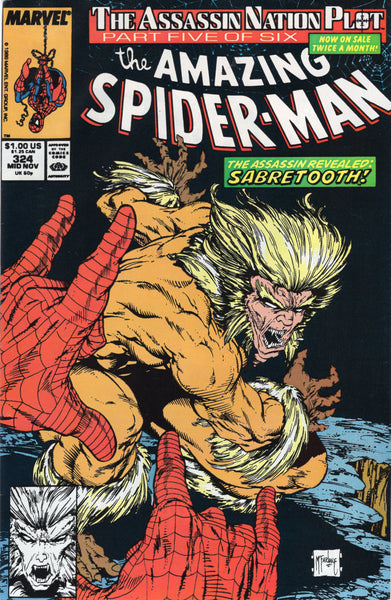 Amazing Spider-Man #324 FN