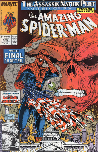 Amazing Spider-Man #325 The Red Skull VF