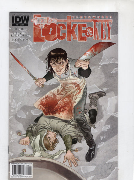 Locke & Key: Clockworks #5 Mature Readers FVF
