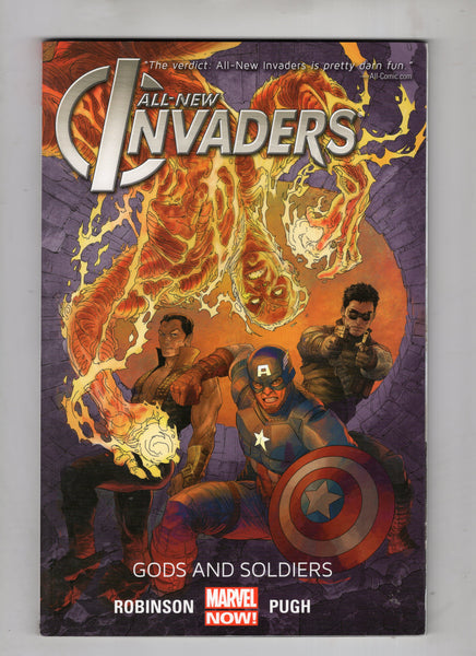 The Invaders Trade Paperback Gods And Soldiers VF
