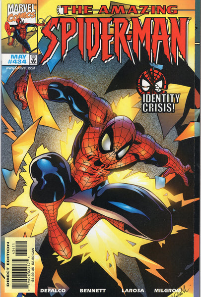 Amazing Spider-Man #434 Double Cover Richochet Variant NM