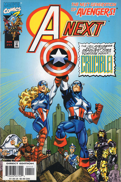 A-Next #11 The Next Generation Of Avengers! VF