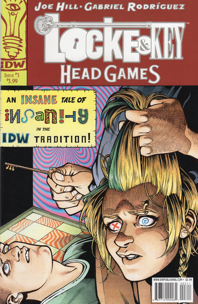 Locke & Key: Head Games #3 Mature Readers VFNM