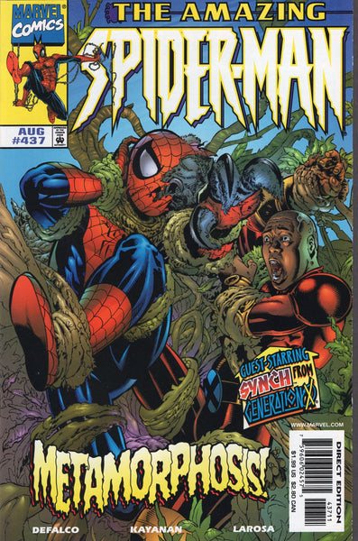 Amazing Spider-Man #437 Metamorphosis NM