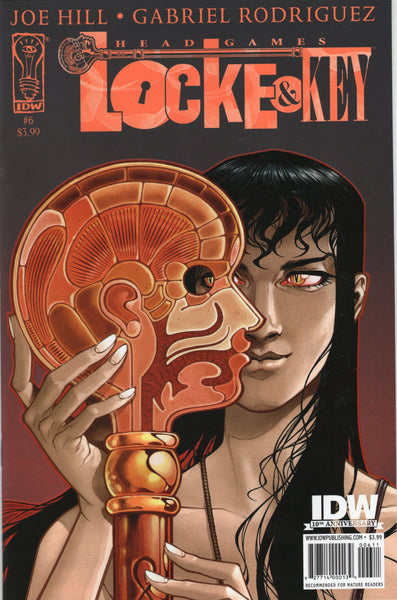 Locke & Key: Head Games #6 Mature Readers NM-