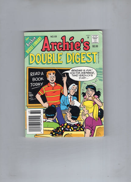 "Archie's Double Digest #69 ""Reading Is Fun!"" VGFN"