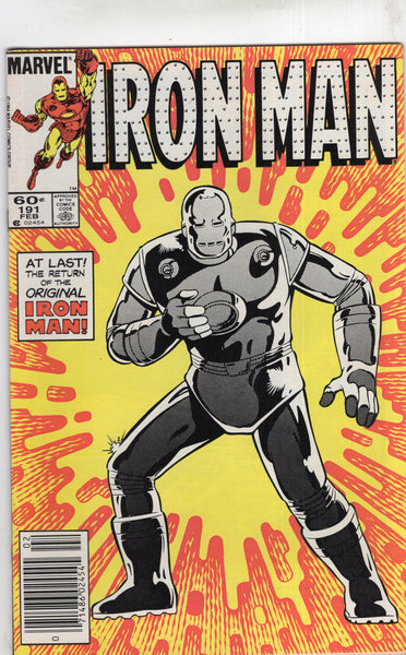 Iron Man #191 News Stand Variant FN