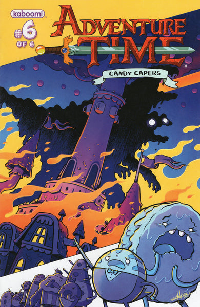 Adventure Time Candy Capers #6 VFNM