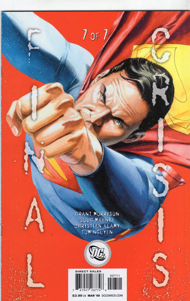 Final Crisis #7 JG Jones Variant Cover VFNM