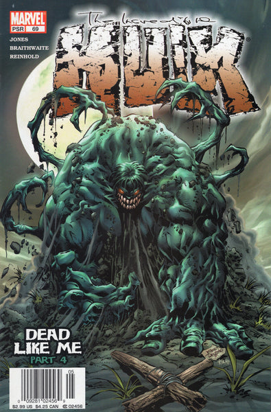 Incredible Hulk #69 Dead Like Me? News Stand Variant VF