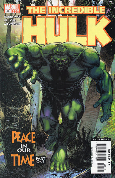 Incredible Hulk #88 Peace In Our Time? VFNM