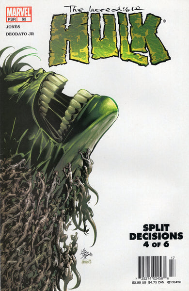 Incredible Hulk #63 Split Decisions! News Stand Variant VF