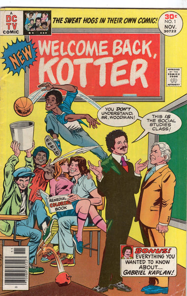 Welcome Back Kotter #1 Bronze Age First Issue VG