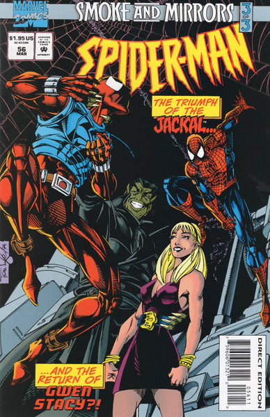 Spider-Man #56 Smoke and Mirrors Part 3 VFNM