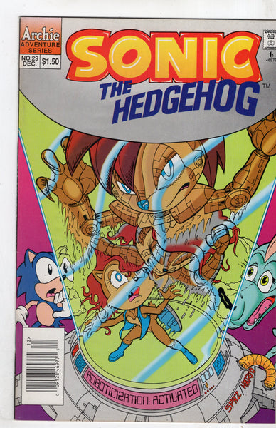 Sonic The Hedgehog #29 HTF Archie 1995 FN