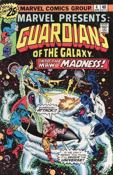 Marvel Presents 4 Guardians Of The Galaxy Bronze Age Classic Vgfn East Bay Comics