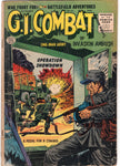 G.I. Combat #43 Quality Comics Last Issue Golden Age 10 Cent Cover Lower Grade Reading copy GD!
