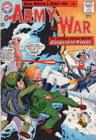 Our Army At War #154 The Booby Trap! Silver Age FVF