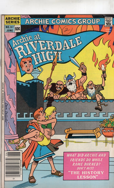 Archie At Riverdale High #97 VG+