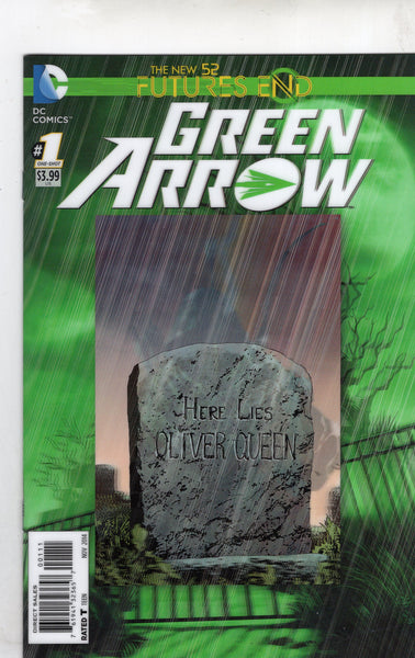 Green Arrow Futures End One-Shot 3D Lenticular Cover! NM-