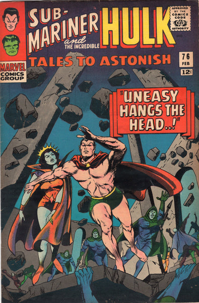 Tales To Astonish #76 Sub-Mariner & Hulk Silver Age Classic FN