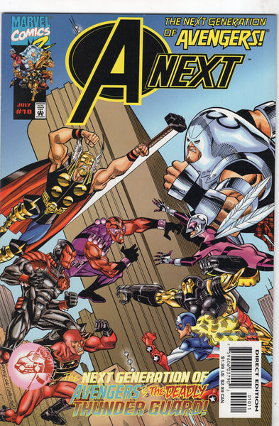 A-Next The Next Generation Of Avengers #10 vs The Deadly Thunder Guard & 1st Hope Pym VF