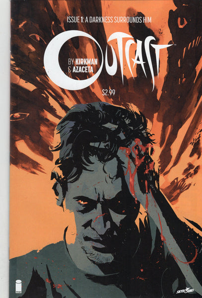 Outcast #1 First Print Kirkman Image Series Mature Readers VFNM
