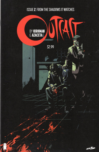Outcast #2 First Print Kirkman Mature Readers VFNM