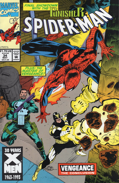 Spider-Man #34 The Punisher and Vengeance NM-