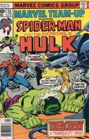 Marvel Team-Up #54 Spidey & The Hulk Early Marvel Byrne Bronze Age Art FVF